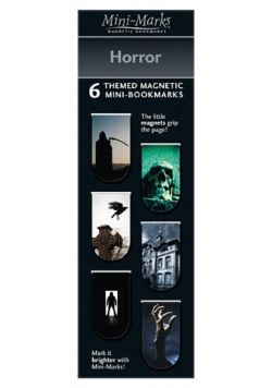 Zakładki magnetyczne Horror 6 sztuk