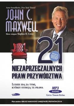 21 niezaprzeczalnych praw przywództwa - Audiobook