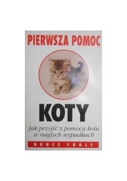 Pierwsza pomoc koty