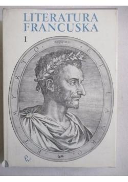 Literatura francuska, Tom I