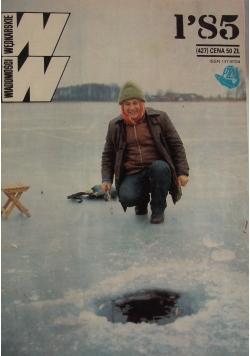 Wiadomości wędkarskie, nr 1-12, rocznik 85/86