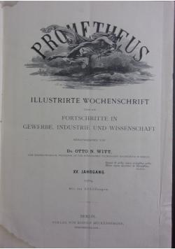 Prometheus, 1904 r.