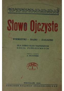 Słowo ojczyste, 1946r.