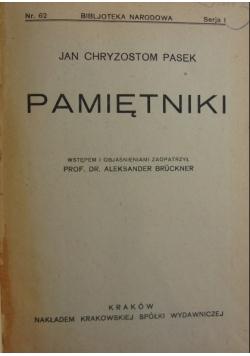 Pamietniki ,1924r.