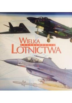 Wielka Encyklopedia Lotnictwa, segregator.