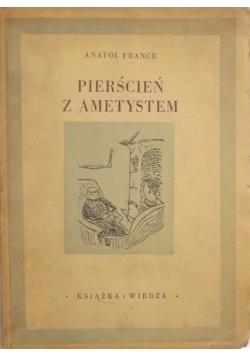 Pierścień z ametystem, 1949 r.