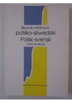 Słownik minimum polsko-szwedzki