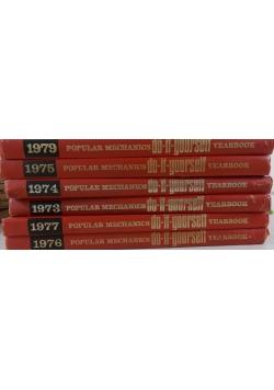 Popular Mechanics. Do-it-yourself, Zwstaw 6 książek