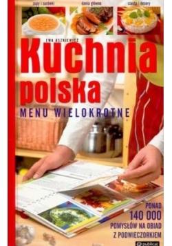 Kuchnia Polska. Menu wielokrotne