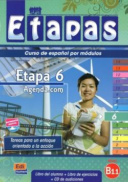 Etapas 6 Podręcznik + ćwiczenia + CD