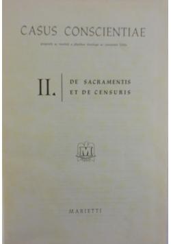 Casus Conscientiae, II