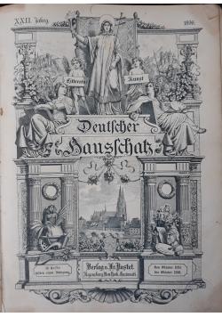 Deutscher hausschatz, 1896 r.