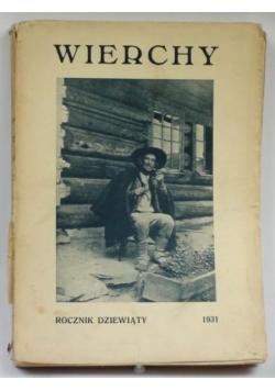 Wierchy. Rocznik dziewiąty 1931