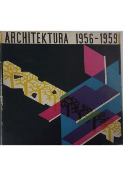 Architektura 1956-1959