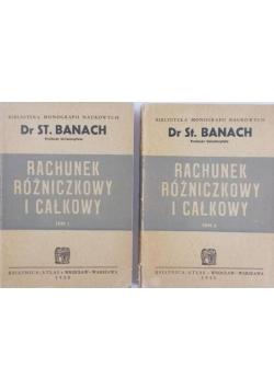 Rachunek Różniczkowy i całkowy, Tom I i II, 1950 r.