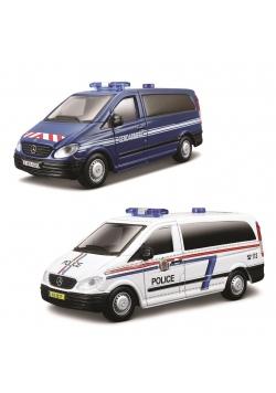 Mercedes Vito Policja, różne rodzaje 1:50 BBURAGO