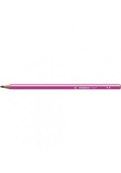 Ołówek Trio HB różowy (12szt) STABILO
