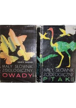 Mały słownik zoologiczny Owady/ Ptaki