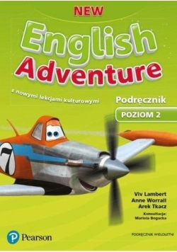 English Adventure New 2 PB wieloletni PEARSON