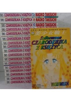 Sailormoon Czarodziejka z Księżyca,Tom 1-18