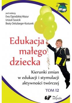 Edukacja małego dziecka T.12