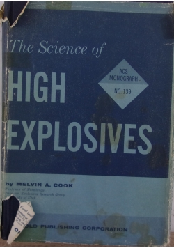 The Science of High Explosives