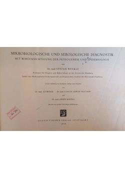 Mikrobiologische und serologische diagnostik