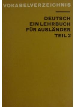 Deutsch ein lehrbuch fur auslander teil 2