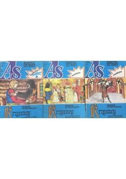 As: Krzyżacy komiks w odcinkach nr 7, 9, 10 - 3 książki