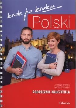 Polski krok po kroku Podręcznik nauczyciela 1