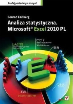 Analiza statystyczna. Microsoft Excel 2010 PL