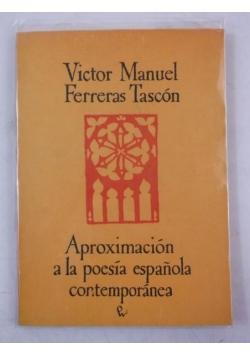 Aproximacion a la Poesia Espanola Contemporanea