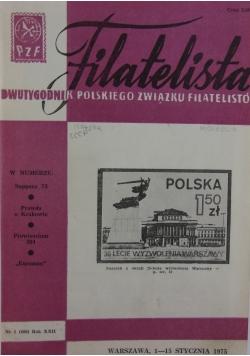 Filatelista. Dwutygodnik polskiego związki filatelistów