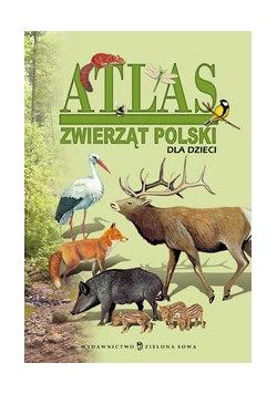 Atlas zwierząt Polski dla dzieci