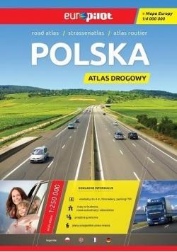 Atlas Drogowy EuroPilot. Polska 1:250 000 niebiesk