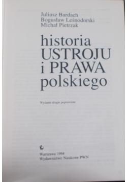 Historia ustroju i prawa polskiego