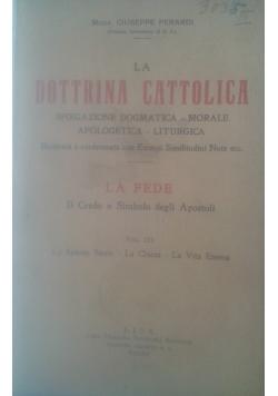 La dottrina Cattolica, 1930 r.
