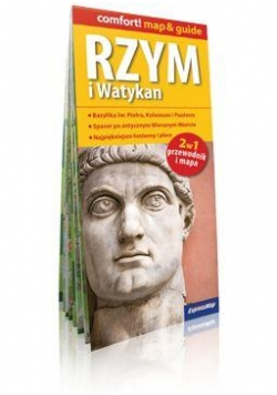 Comfort!map&guide Rzym i Watykan plan miasta