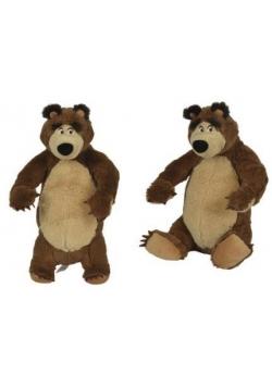 Masza pluszowy niedźwiedź 25 cm, 2 rodzaje