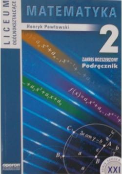 Matematyka 2. Zakres rozszerzony