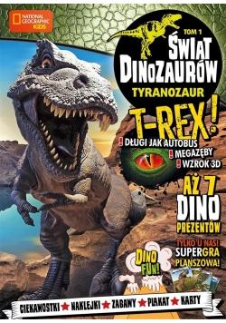 Świat Dinozaurów T.1 Tyranozaur