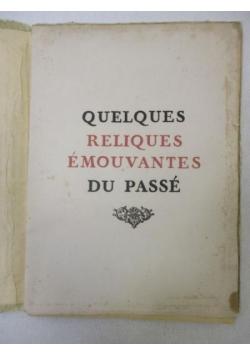 Quelques reliques emouvantes du passe, 1930 r.