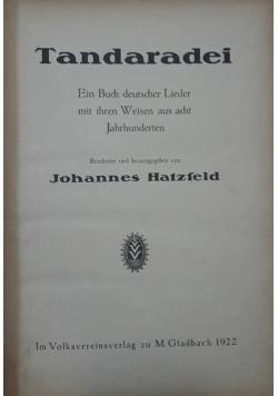 Tandaradei , 1922 r.