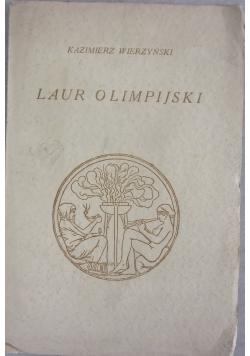 Laur olimpijski, 1930 r.