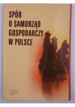 Spór o samorząd gospodarczy w Polsce