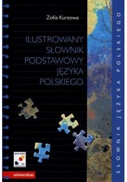 Ilustrowany słownik podstawowy języka polskiego...