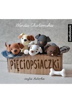 Pięciopsiaczki. Audiobook