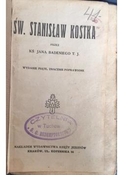 Św. Stanisław Kostka, 1921 r.