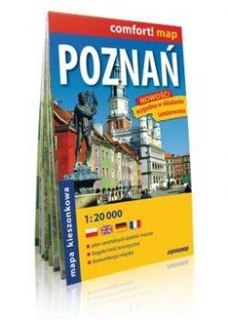 Comfort!map Poznań 1:20 000 midi plan miasta