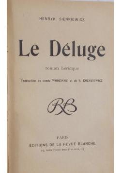 Le Deluge, 1902 str.